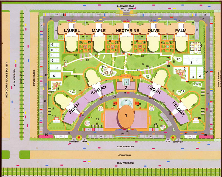 Parx Laureate layout plan